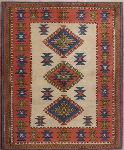 R8383 Turkish Handmade Vintage Carpet