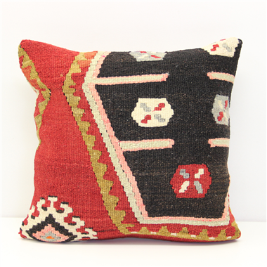 Turkish Kilim Cushion Cover - M1251