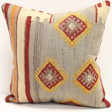 M489 Turkish Kilim Cushion Cover
