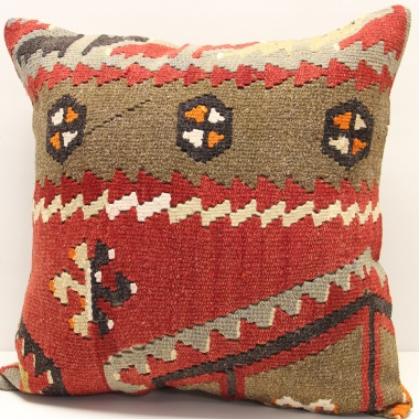 L111 Turkish Kilim Cushion Cover