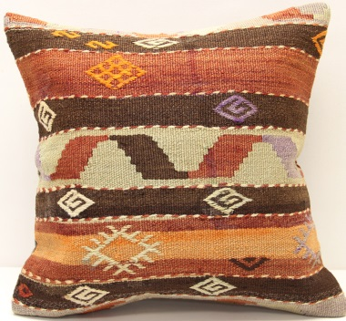 M964 Turkish Kilim Cushion Cover