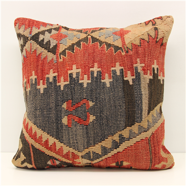 M1295 Turkish Kilim Cushion Cover