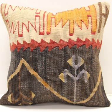 M1504 Turkish Kilim Cushion Cover