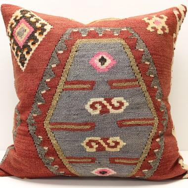 XL435 Turkish Kilim Cushion Cover