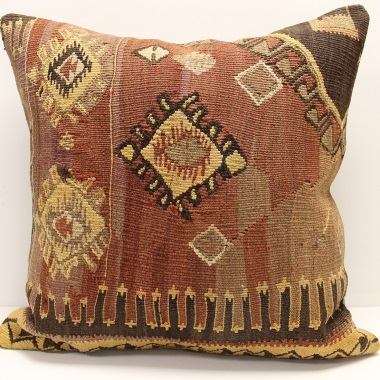 XL439 Turkish Kilim Cushion Cover