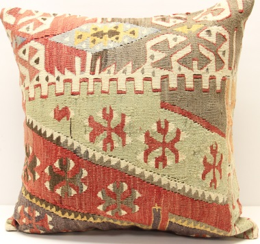 L651 Turkish Kilim Cushion Cover