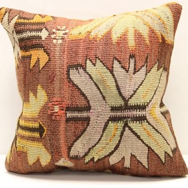 M1289 Turkish Kilim Cushion Cover