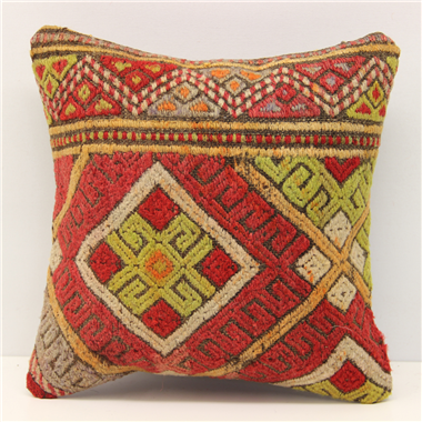 Turkish Kilim Cushion Cover S289