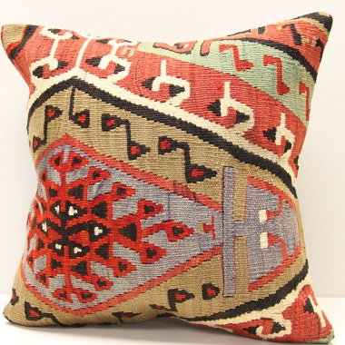 M1563 Turkish Kilim Cushion Covers London UK