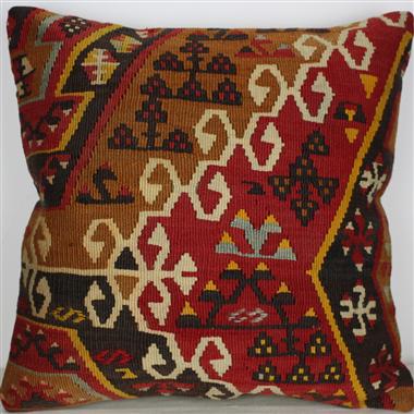 L644 Turkish Kilim Cushion Pillow
