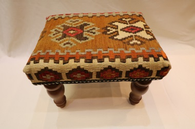 R7018 Turkish Kilim Footstools