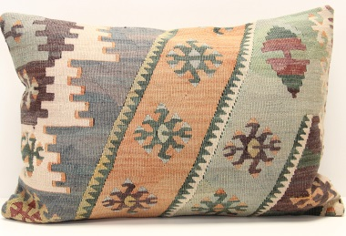 D302 Turkish Kilim Pillow Cover