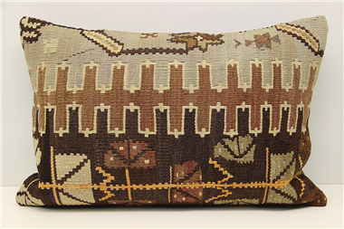 D310 Turkish Kilim Pillow Cover