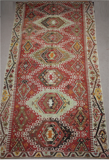 R8533 Turkish Kilim Rug