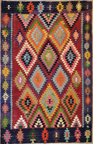 R8950 Turkish Kilim Rugs
