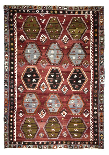 R8544 Turkish Kilim Rugs