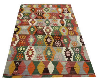 R8951 Turkish Kilim Rugs UK