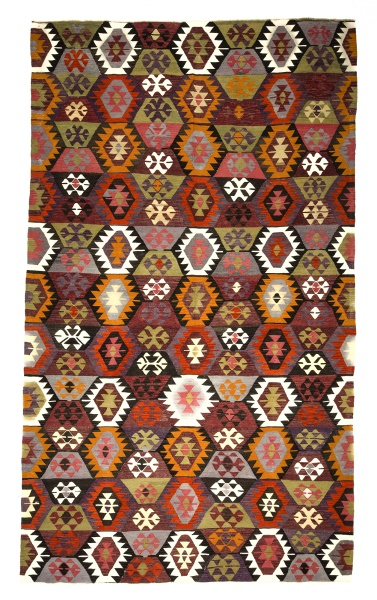 R8960 Turkish Kilim Rugs UK