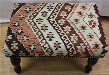 Turkish Kilim Stool R4057