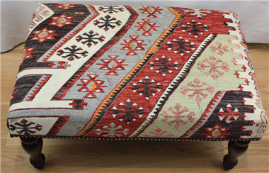 R7024 Turkish Kilim Stool Tables