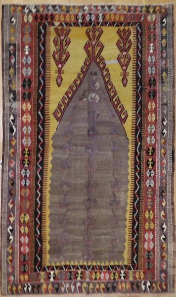 R3577 Turkish Konya Obruk Kilim