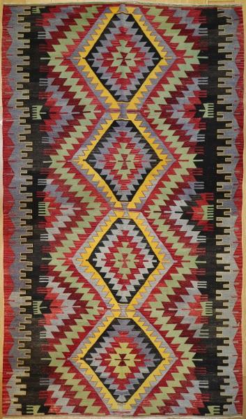 R7168 Turkish Kula Kilim Rug