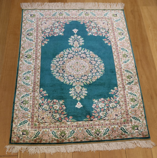 Turkish Silk Rugs R9060