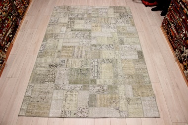 R8996 Turkish Vintage Overdyed Patchwork Rugs