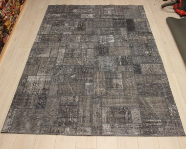 R8997 Turkish Vintage Overdyed Patchwork Rugs