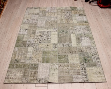 R8998 Turkish Vintage Overdyed Patchwork Rugs