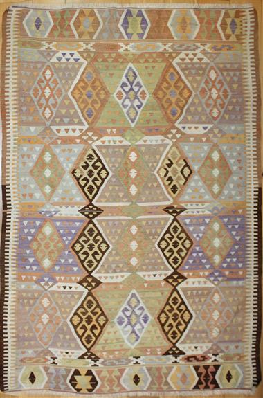 R3508 Vintage Anatolian Antalya Kilim Rug