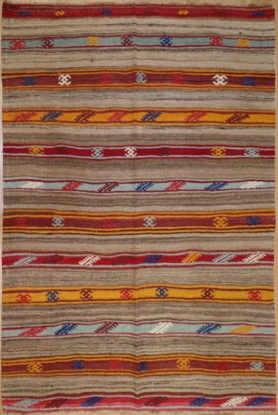 R8924 Vintage Flat Weave Kilim Rugs