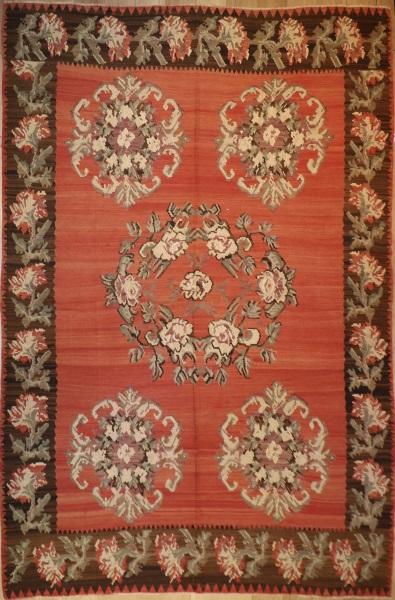 R5099 Vintage Karabakh Kilim Rug