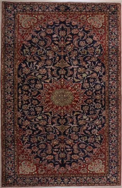 R5996 Vintage Kashan Persian Carpet