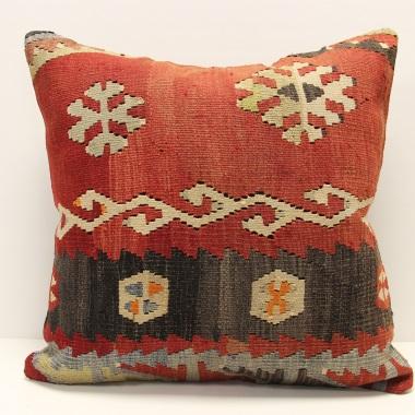 L692 Vintage Kilim Cushion Cover