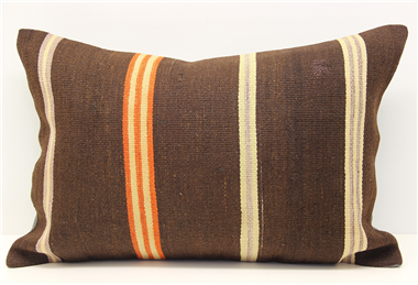 Vintage Kilim Lumbar Pillow Cover