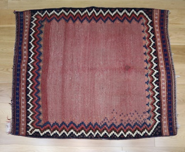 R9027 Vintage Kilim Sofreh Rug