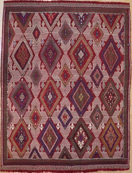 R5448 Vintage Konya Cicim Rug