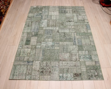 R9003 Vintage Overdyed Patchwork Rugs