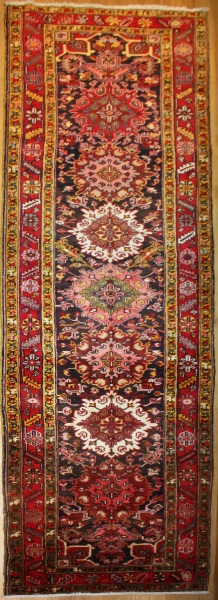 R8088 Vintage Persian Carpet Runner