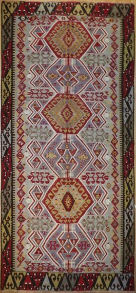 R8051 Vintage Turkish Kilim Rug