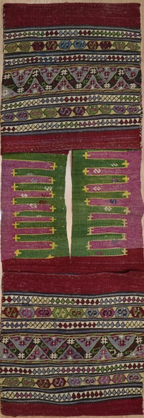 R7960 Vintage Turkish Kilim Rug Saddle Bags