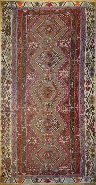 R9128 Vintage Turkish Kilim Rugs