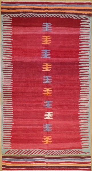 R8213 Vintage Turkish Kilim Rugs