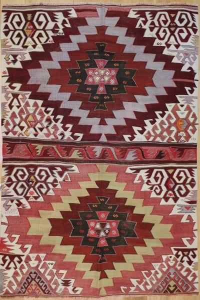 R8214 Vintage Turkish Kilim Rugs