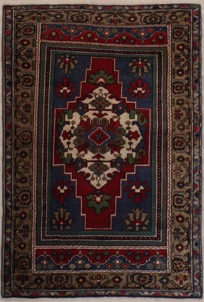 R7650 Vintage Turkish Rug