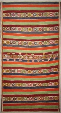 Vintage Turkish Sivas Kilim Rug R7875