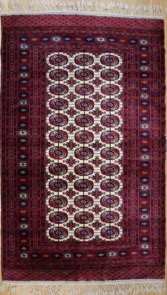 R7394 Vintage Turkmen Yomut Rug