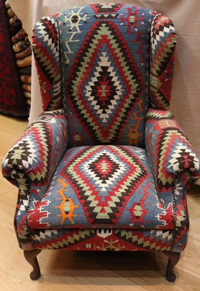 Strange R5989 Antique Wing Kilim Chairs View One Of The Most Download Free Architecture Designs Rallybritishbridgeorg