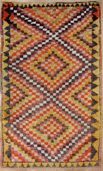 R4431 Wonderful Antique Turkish Rug